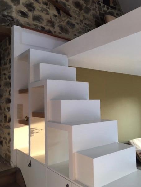 Escalier Bibliothèque Mobi Creation